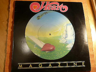 "Heart:Magazine Picture Disc12""LP 33Rpm 1978MushroomRecords SpecialCanadaEdition"