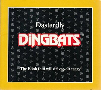 Dastardly Dingbats Paperback Book The Cheap Fast Free Post