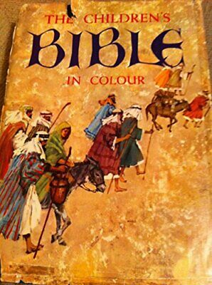 The Children's Bible in Colour by Author Hardback Book The Cheap Fast Free Post