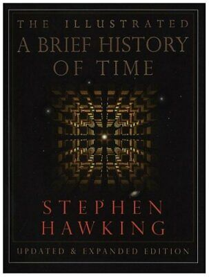 A Brief History of Time (Illustrated) by Hawking, Stephen Hardback Book The