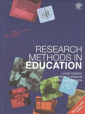 Research Methods in Education (6th Edition) by Morrison, Keith Paperback Book