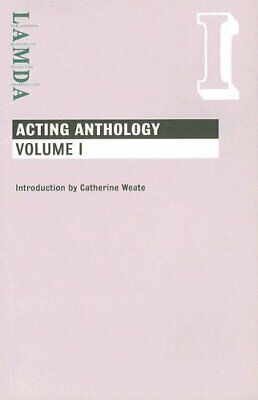 Lamda Acting Anthology: Vol I Paperback Book The Cheap Fast Free Post