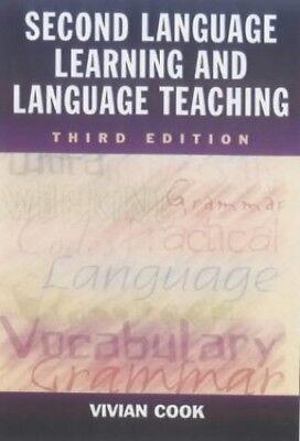 Second Language Learning and Language Teaching, 3Ed by Cook, Vivian Paperback