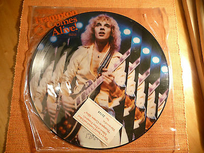 """Frampton Comes Alive"" Picture Disc SEALED 12"" LP 33Rpm Limited Edition No:20708"