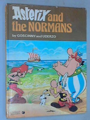 Asterix and the Normans (Classic Asterix hardbacks) by Uderzo Hardback Book The
