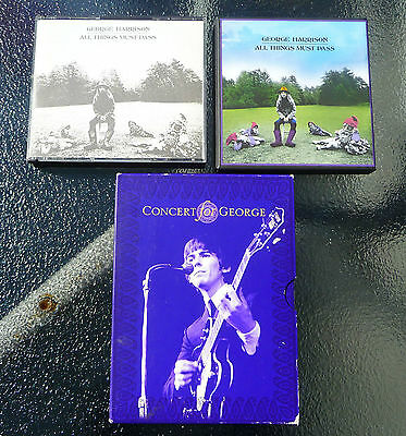 George Harrison All Things Must Pass New + Original CD + Concert for George DVD