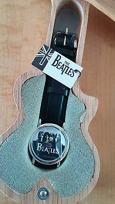 The Beatles Commemorative Watch with Guitar Box Apple Corps Ltd. NEVER USED