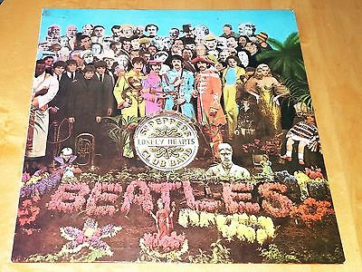 The Beatles Sgt. Pepper's Lonely Hearts Club Band Stereo-JAPAN-ODEON RED Record