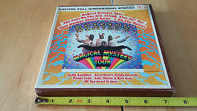 The Beatles:Magical Mystery TourTape-Reel 3¾IPS with Original Box CapitolY1T2835