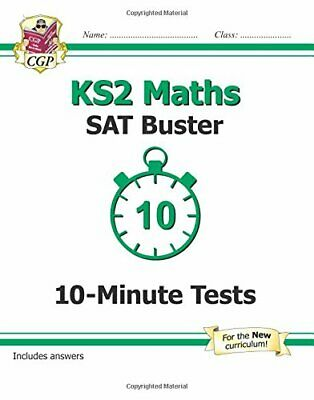 KS2 Maths SAT Buster: 10-Minute Tests Maths - Book 1 (for tests... by Books, CGP