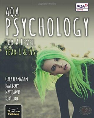 AQA Psychology for A Level Year 1 & AS - Student Book by Rob Liddle Book The