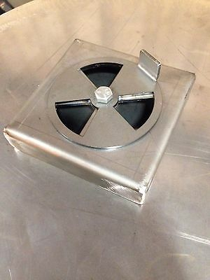 Custom air damper for uds drum smoker wood burner cooker BIG SALE!!