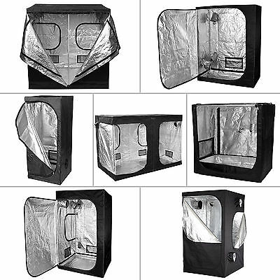 Premium Grow Tent Silver Mylar Indoor Bud Box Hydroponics Dark Room Sizes