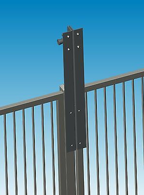 Pool Gate Safety Latch - Magnetic Gate Latch Without Lock