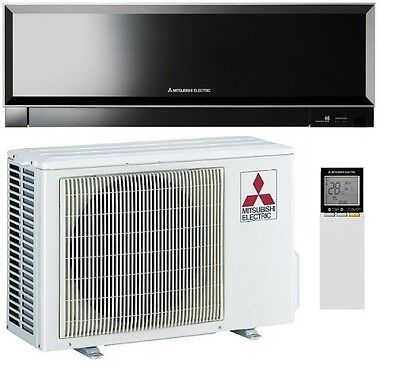 Mitsubishi Electric Split system A/C. SIGNATURE BLACK,4.2 KW.