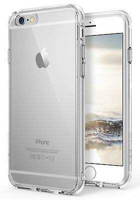 Apple iPhone 6S, iPhone 6 Case, Ringke [Fusion] Shockproof Protective Clear Case
