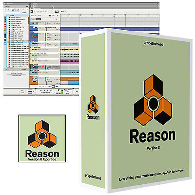 Propellerheads Reason 8 Upgrade Software - Requires Previous Version