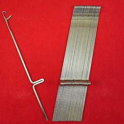 Neu 25 Nadeln für Strickmaschinen Brother KR260 Knitting Machine Needles