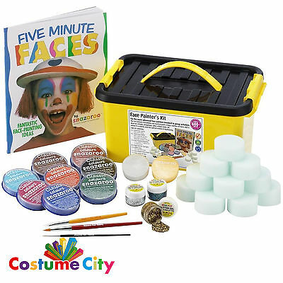 Snazaroo Complete Face Painters Kit Party Make Up Face Paint Activity
