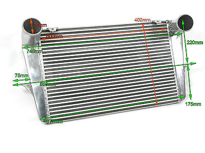 Universal Large Intercooler 600 x 400 x 45mm For High Power Petrol Diesel Turbo