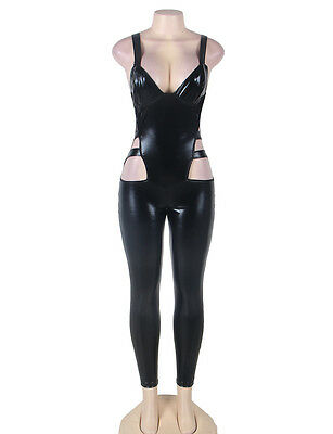 Sexy Catsuit Vinyl Wetlook Fetish Fire the Passion with this Catsuit size 10 RBM