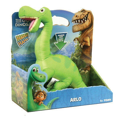 The Good Dinosaur Feature Soft Plush Talking Arlo Official Tomy Toy