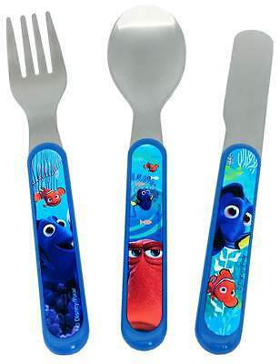Finding Dory 3-Piece Cutlery Set   Knife, Fork and Spoon   Nemo   Disney Pixar