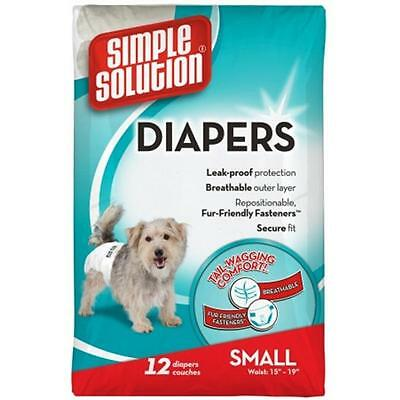 Fulfillment Pet 024BRA-10583 solution simple jetables Couches pour chiens