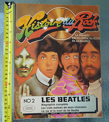 Les Beatles - Magazine Histoire du Rock 1975 #2 - 58 Pages - French Canada RARE
