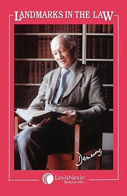 Landmarks in the Law by Denning, Baron Alfred Paperback Book The Cheap Fast Free