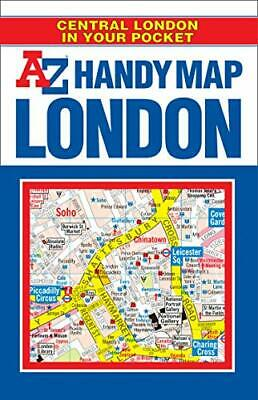 Handy Map of Central London (Street Maps & ... by Geographers A-Z Map  Paperback