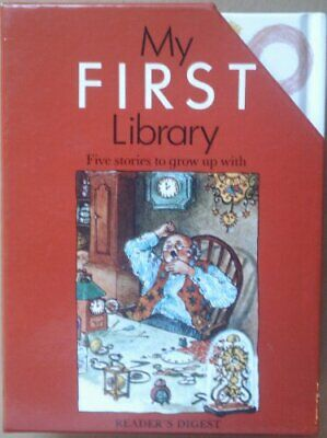My First Library, Reader's Digest Hardback Book The Cheap Fast Free Post