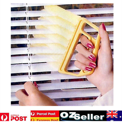 Blinds Cleaner Brush Vertical Window Venetian Blind Hand Held Window Duster New