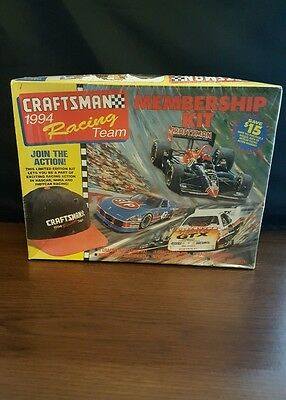 Nascar Craftsman Racing Team Membership Collector Kit Sealed 1994 New In Box !!