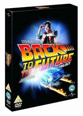 Back to the Future Trilogy [DVD] [1985] - DVD  VAVG The Cheap Fast Free Post