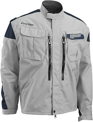Thor 2017 Phase Cement/Navy Jacket Off Road Dual Sport MX Motocross