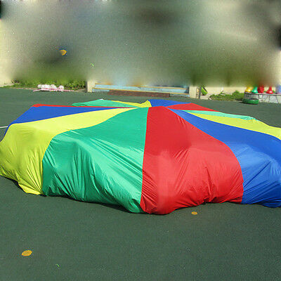 Play Parachute Kids Children Colorful Outdoor Game Sport Toy Exercise