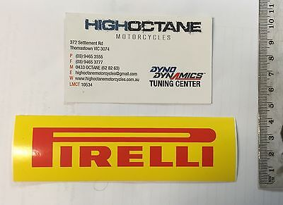 Pirelli Stickers x2 Sold in pairs