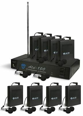 Nady ALD-800 BB Monitor System With 8 Receivers + 8 Pairs of Ear Buds
