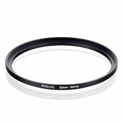 RISE(UK) 82-86MM 82 MM- 86 MM 82 to 86 Step Up Ring Filter Adapter