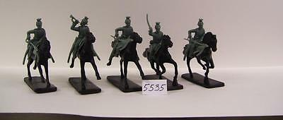 Armies in Plastic AIP5535 1/32 World War I - Mounted German Uhlans X 5 TROOPS