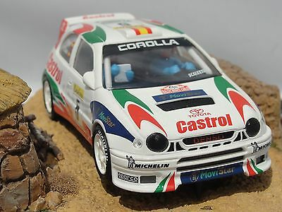 Scalextric Spanish Toyota Corolla Wrc  #5  1.32  New  Unboxed