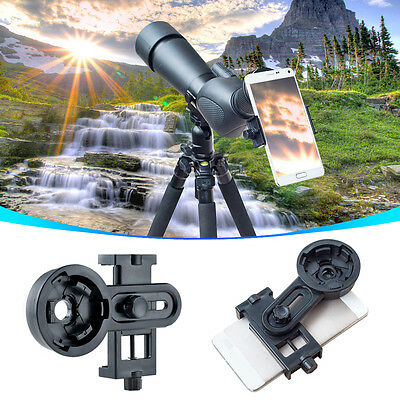 Universal Telescope Camera Interface Bracket Kit Cell Phone Mount Holder Adapter