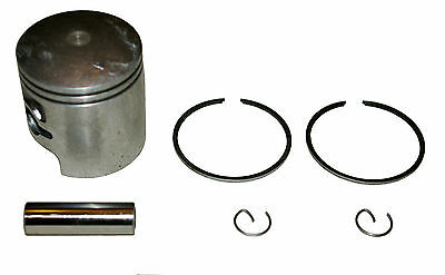 Suzuki TS50X TS50ER piston kit +0.50 o/s 50cc barrel (80-03) 41.50mm bore