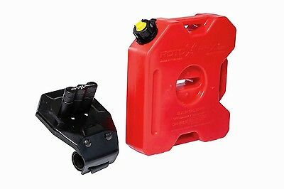 ROTOPAX Fuel Gas Can & Mount Kit 14-17 Arctic Cat Wildcat Trail & Sport 2436-313
