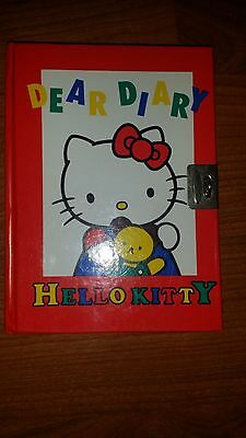 Sanrio Dear Diary Hello Kitty without Sticker & Lock [Vintage]