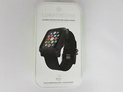 Lunatik Epik Epik-006 Polycarbonate Case + Canvas Band 42mm Apple Watch NEW