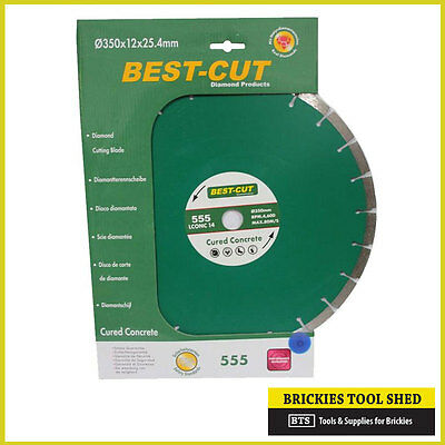 16in 400mm DIAMOND BLADE, CURED CONCRETE, SAW BLADE