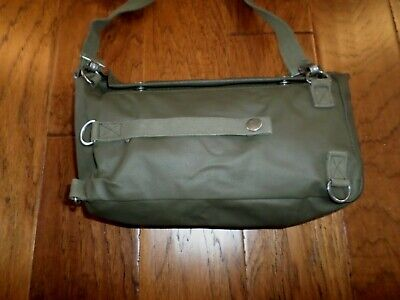 Swiss Military Army Shoulder Bag With Strap Water Resistant Rubberized Material