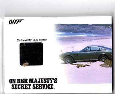 James Bond 2014 Archives JBR39 Aston Martin DB5 Interior Prop card 090/275